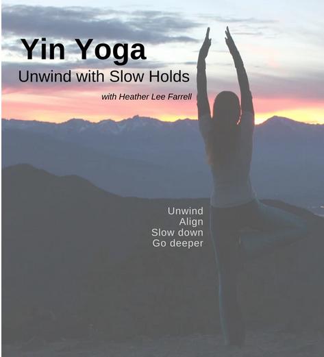 Yin Yoga: Unwind with Slow Holds